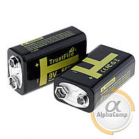 Аккумулятор Крона TrustFire 9V 550mAH (вход microUSB)