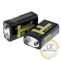 Крона TrustFire 9V 550mAH (Li-on аккумулятор microUSB)