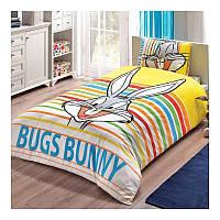 Постельное белье Tac DISNEY Bugs Bunny Striped полуторное