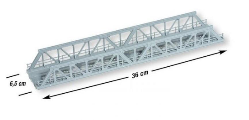 Noch 21310 двойной мост / H0 1/87