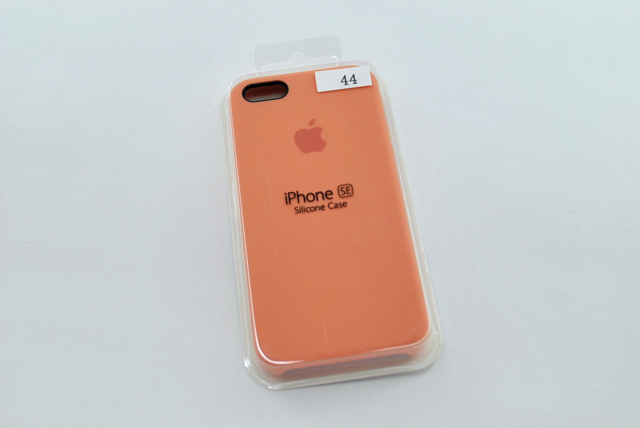 Чехол iPhone 5 /5s/SE Silicone Case original №44 pale peach