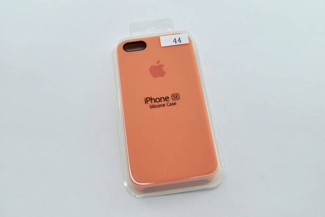 Чехол iPhone 5 /5s/SE Silicone Case original №44 pale peach, фото 2