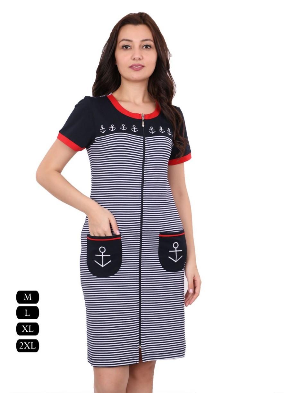 97896b050285 Летний женский халат в полоску, цена 516,20 грн., купить в Харькове ...