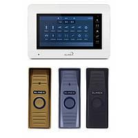 Комплект цветного домофона Slinex XS-07M + вызывная панель Slinex ML-15HR