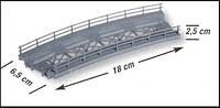 Noch 21350  мост радиусный 18 см   H0 1/87
