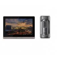 Комплект ip видеодомофона Dahua DH-VTH1660CH и ip вызывной панели DHI-VTO2101E-P