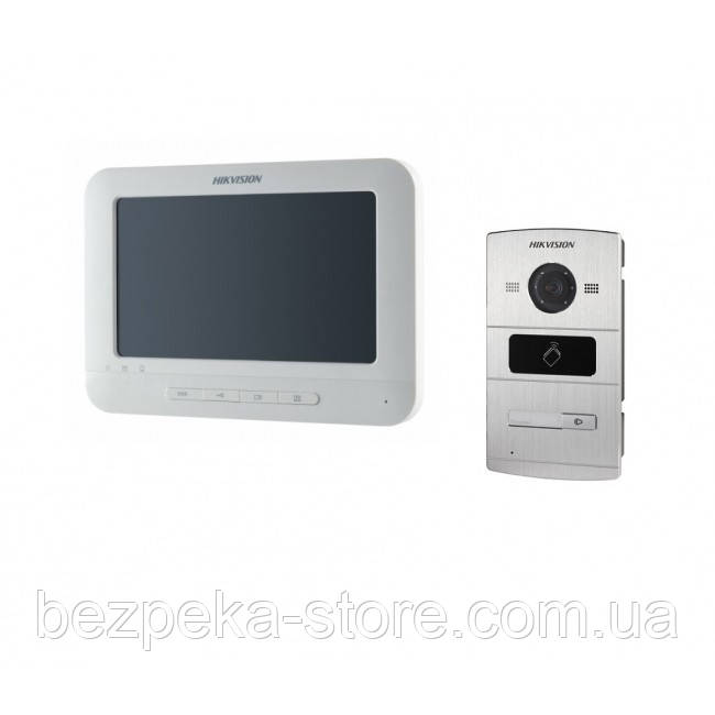 Комплект ip видеодомофона Hikvision DS-KH6310-W(L) и ip вызывной панели DS-KV8102-IM