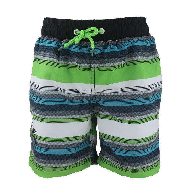 Шорты пляжные для мальчика в полоску опт