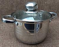 Кастрюля с многослойным дном 1.4 литра, А-Плюс, фото 1
