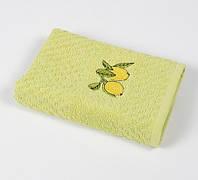Полотенце кухонное Lotus Mira - Lemon tree оливковый 40*60