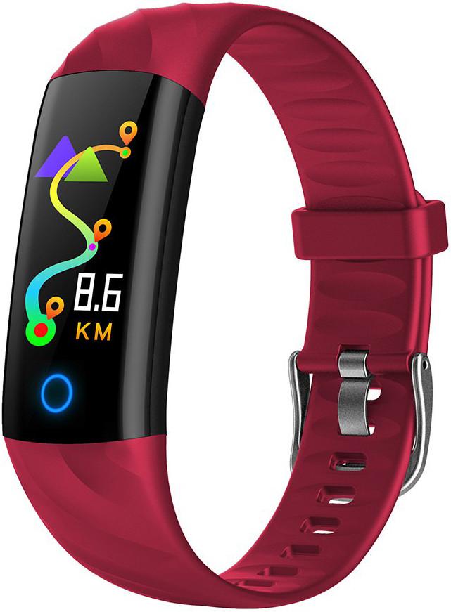 Фитнес браслет Hembeer S5 | IP68 | Тонометр | Красный | Гарантия