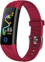 Фитнес браслет Hembeer S5 | IP68 | Тонометр | Красный | Гарантия, фото 1