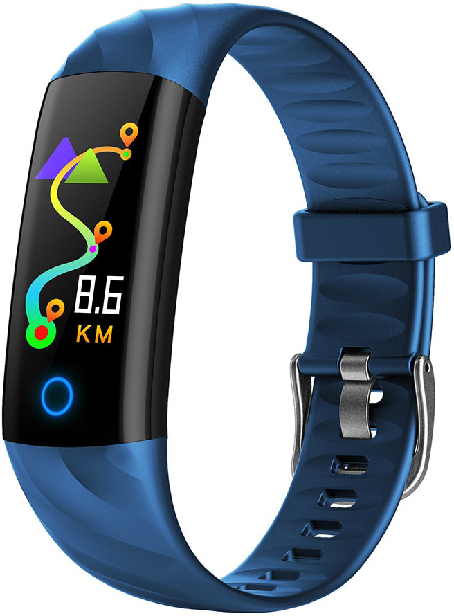 Фитнес браслет Hembeer S5 | IP68 | Тонометр | Синий
