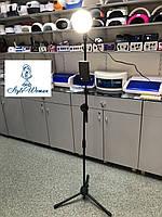 Лампа led студийная 65вт, лампа селфи косметологическая на штативе LSH-00