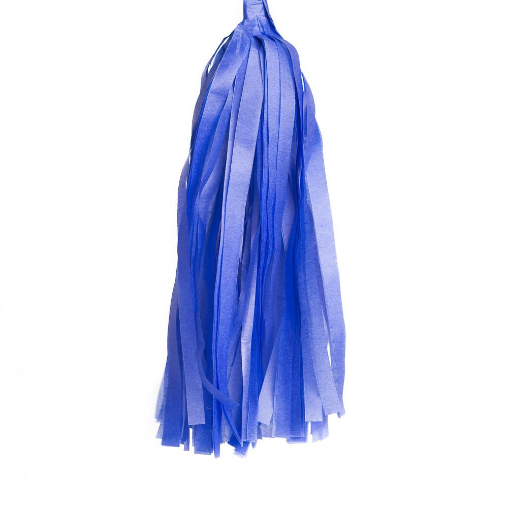 Кисточка для гирлянды Тассел Тёмно-голубая