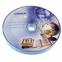 Videx DVD-R 16x 4.7Gb Тетрадка bulk 10