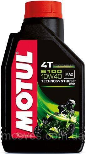 4T-5100 Technosynthese 10W-40 масло для мотоциклетных двигателей, полусинтетическое, 1л