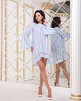 fc2ce6f98ba Женское платье в полоску с длинным рукавом оптом в Украине. Сравнить ...