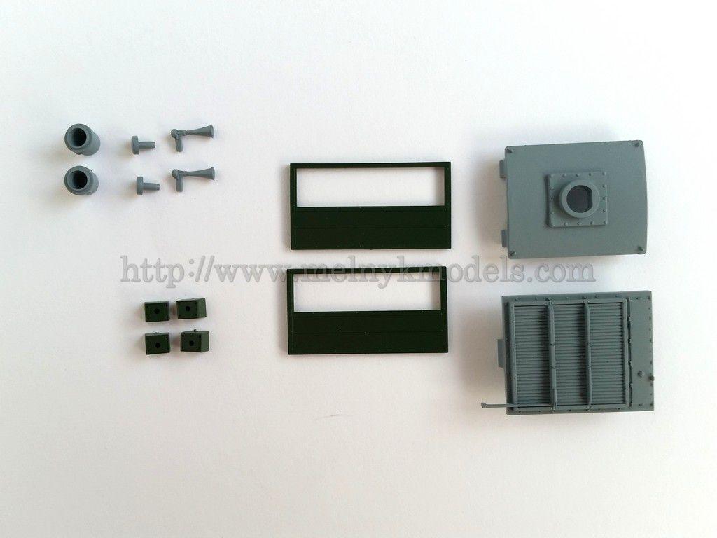 Roco 140731 / Комплект запасный часте для М62-1066 арт. 73790 / 1:87