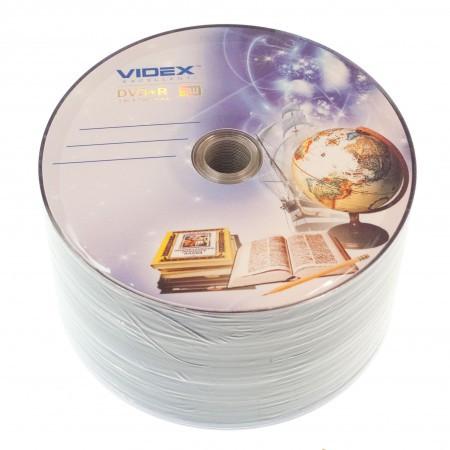 Videx DVD+R 16x 4.7Gb Тетрадка bulk 50