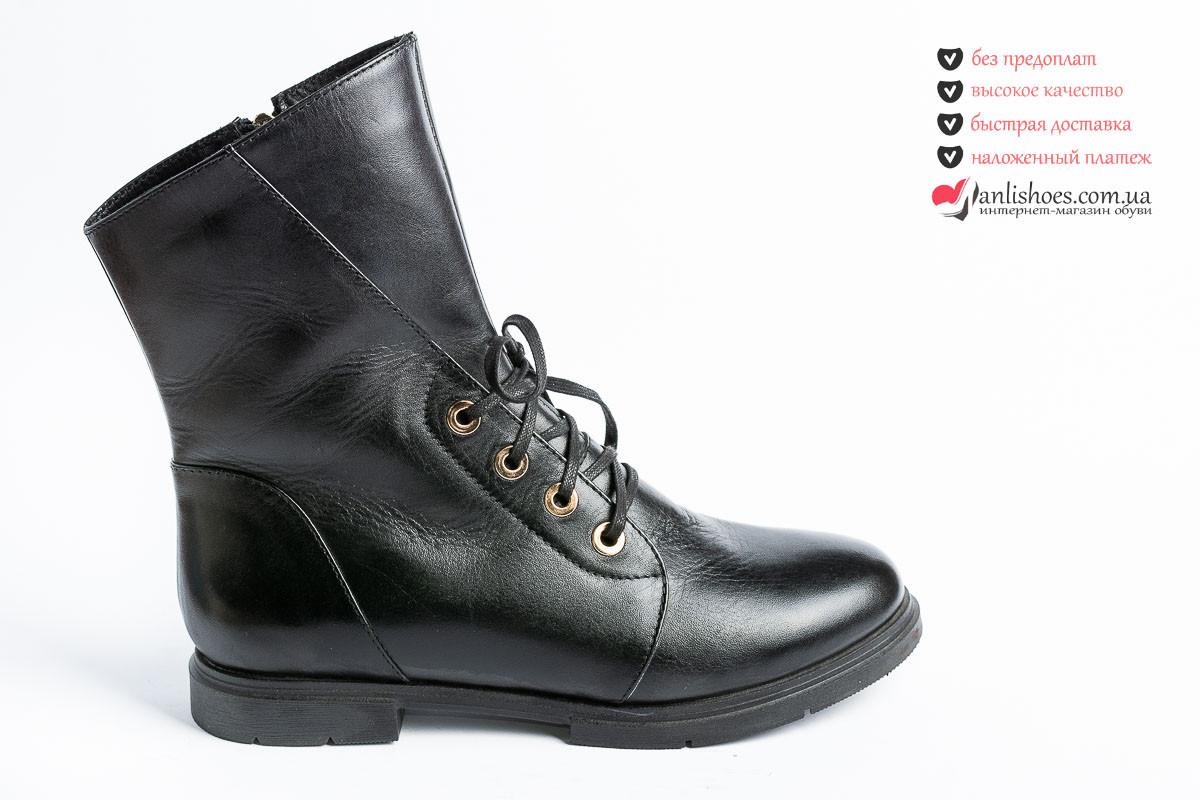 7a820731e ⛳Ботинки женские зимние 37р на шерсти. Женские кожаные ботинки зима. -  Обувь от