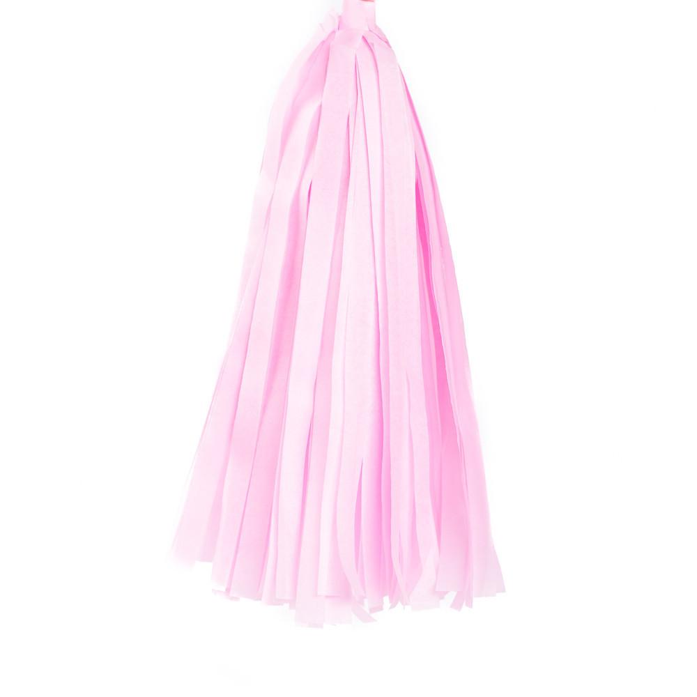 Кисточка для гирлянды Тассел Нежно-розовая