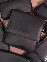 Сумка стильная черная компактная на плечо Гучи