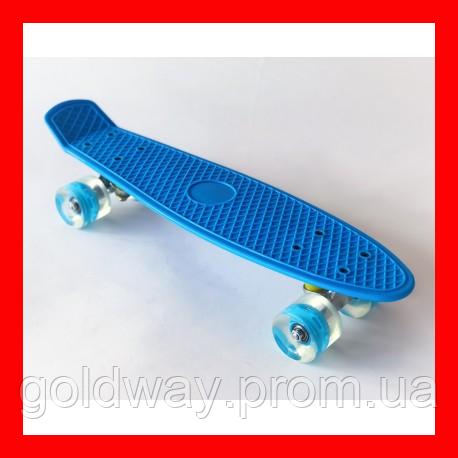 Пенни борд (пенниборд) 2211 Penny Board синий