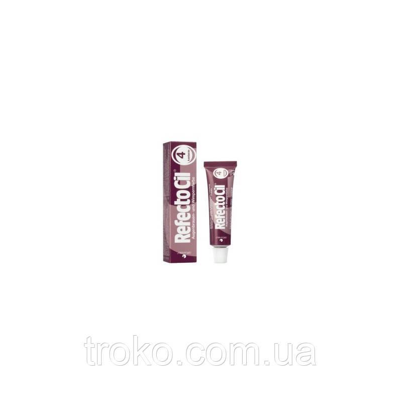 Краска для бровей и ресниц RefectoCil №4 Каштановая 15 мл