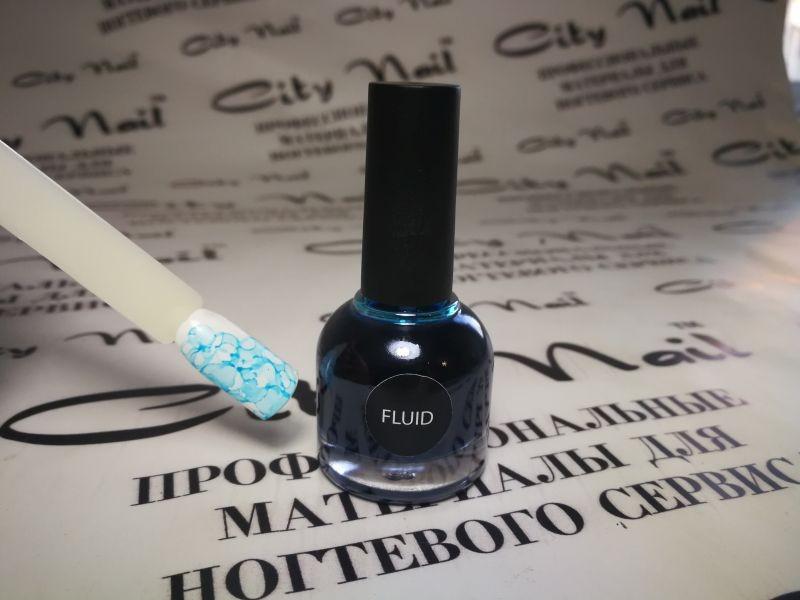 Акварельні чорнило FLUID CityNail – блакитні 10мл