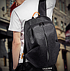Рюкзак городской Meilun Черный, фото 9