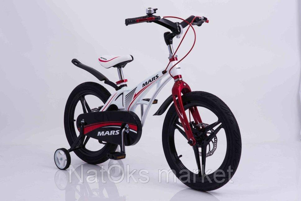 """Детский велосипед MARS 18"""" дюймов (Белый)"""