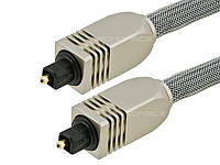 Toslink оптический кабель Monoprice Premium 0.45 метра, фото 1