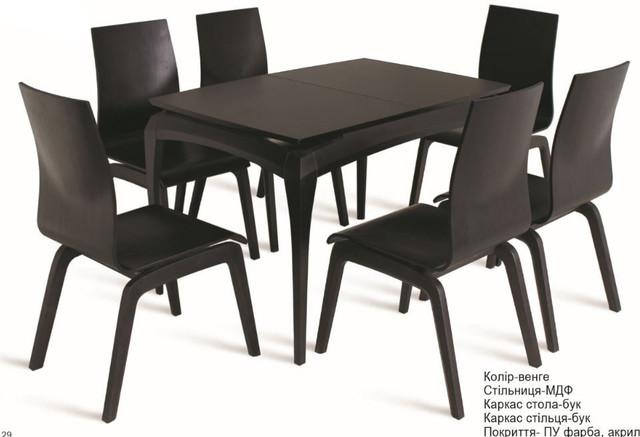 Стол Градо черный (фото 2)
