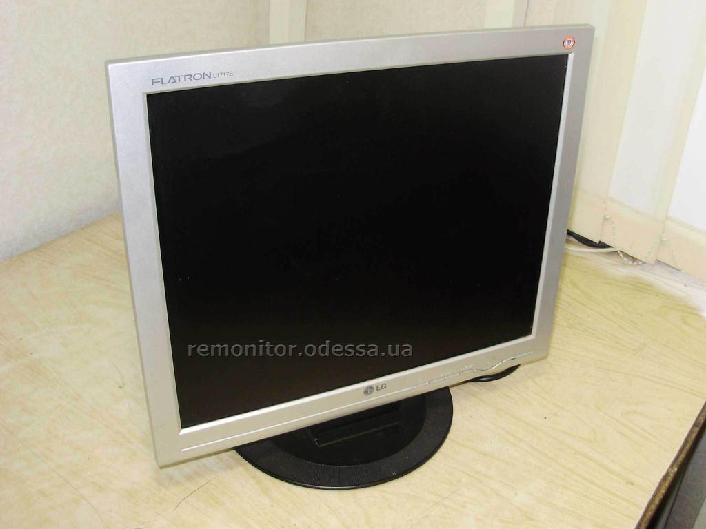 Ремонт монитора LG Flatron L1717S