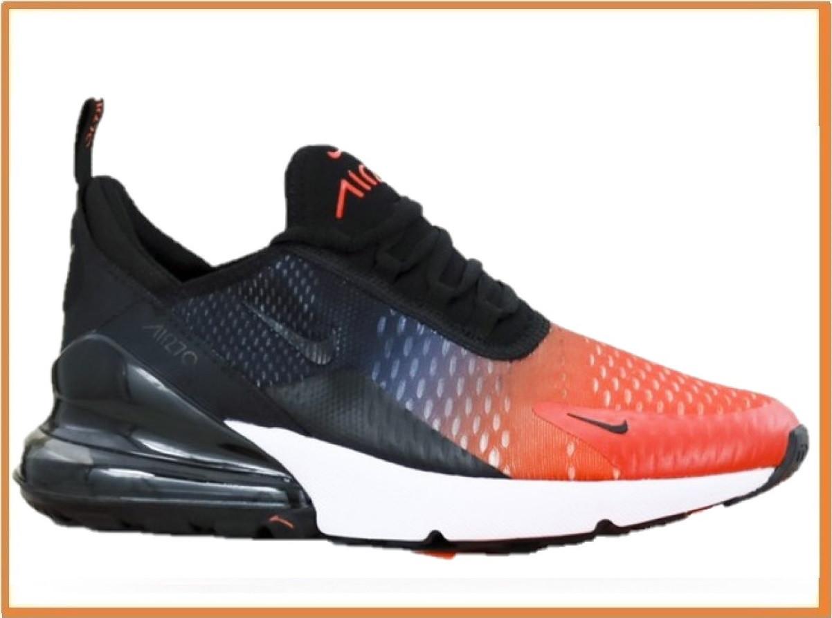 38395810 Мужские кроссовки Nike Air Max 270 Black Red White (найк аир макс 270,  черные