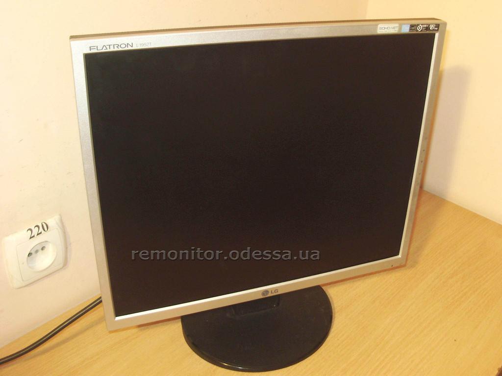 Ремонт монитора LG Flatron L1952T-SF