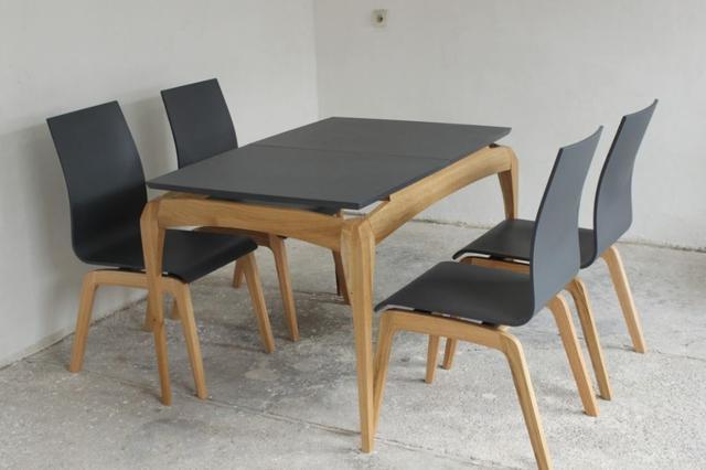 Стол Градо бук, черный (фото 3)