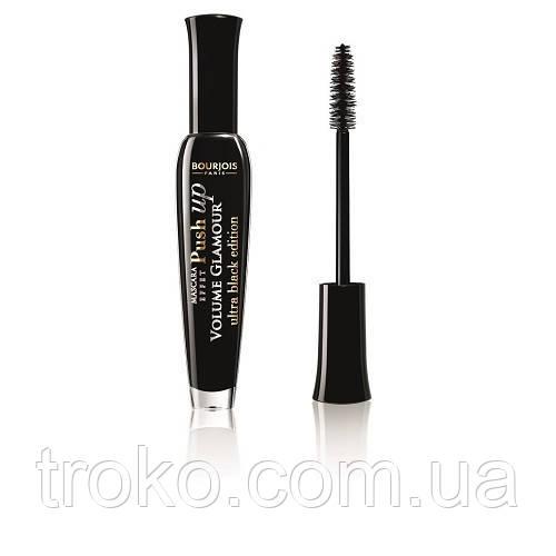 BOURJOIS Volume Glamour Push up Ultra Black Тушь подкручивание и объем, 7ml