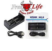 XTAR MC2 - универсальное зарядное устройство для Li-Ion аккумуляторов различных форматов на 2 канала, фото 1