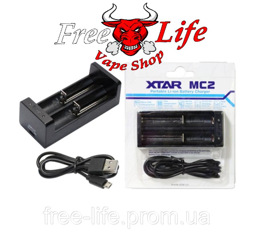 XTAR MC2 - универсальное зарядное устройство для Li-Ion аккумуляторов различных форматов на 2 канала