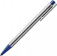 Ручка Шариковая Lamy Logo Хром Синяя кнопка / Стержень M16 1,0 мм Синий (4014519271345), фото 1