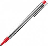 Ручка Шариковая Lamy Logo Хром Красная кнопка / Стержень M16 1,0 мм Синий (4014519271383), фото 1
