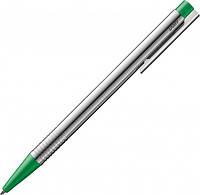 Ручка Шариковая Lamy Logo Хром Зелёная кнопка / Стержень M16 1,0 мм Синий (4014519271444), фото 1