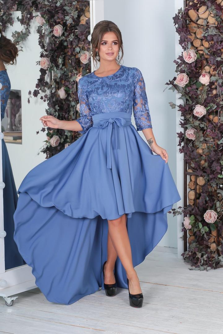 65403821b81 Нарядное асимметричное платье