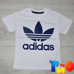 """Летняя футболка """"Adidas"""" , трикотаж , для мальчика 1-2;3-4;5-6;7-8 лет"""