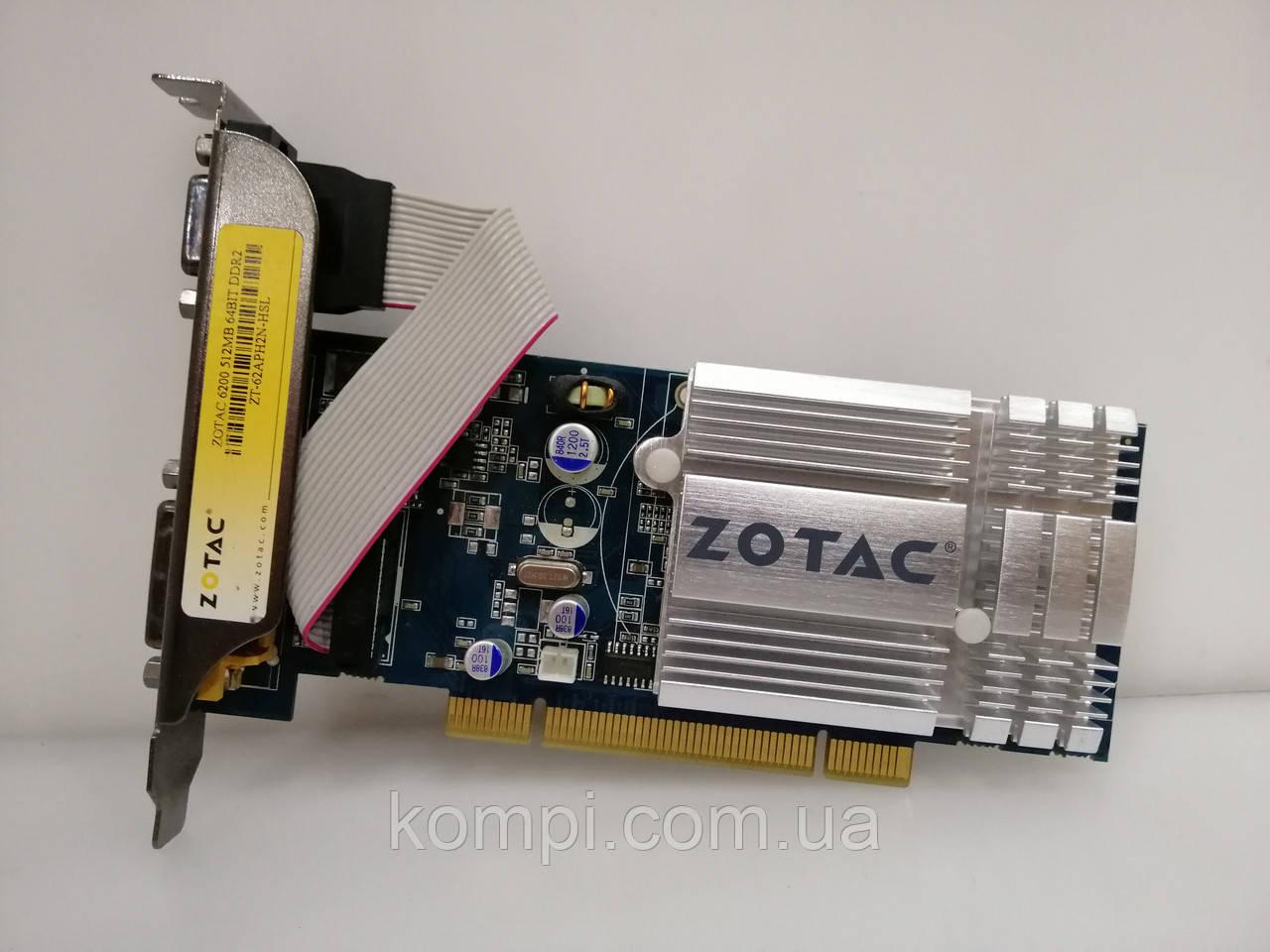 Видеокарта NVIDIA Zotac 6200 512 MB PCI