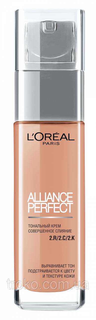 LOREAL Alliance Perfect Тональный крем R2.C2 - Vanilla Rose
