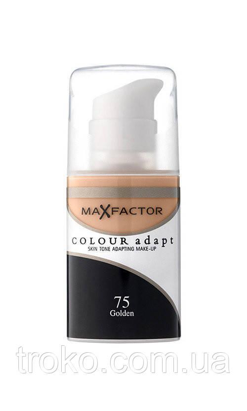 MaxFactor Colour Adapt Тональная основа, 34 мл №75 - Золотистый
