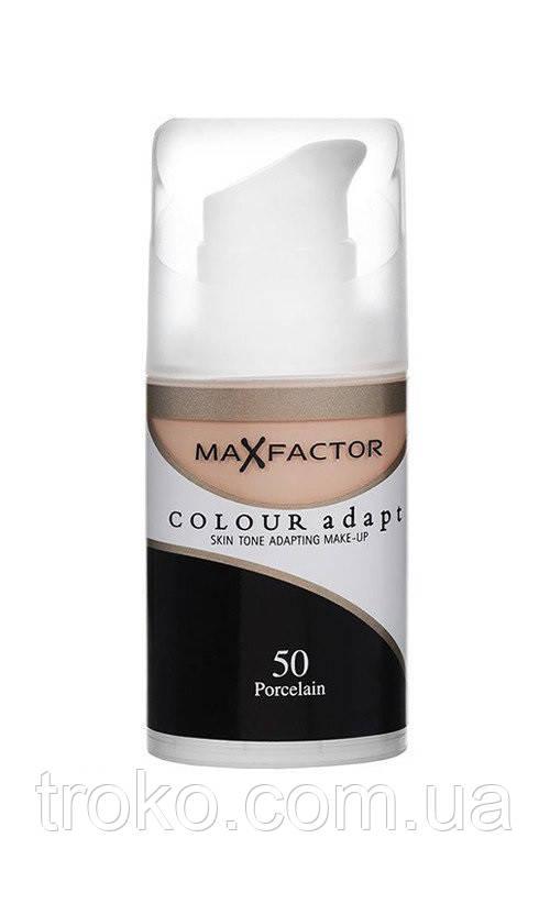 MaxFactor Colour Adapt Тональная основа, 34 мл №50 - Фарфор